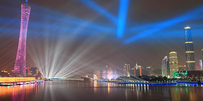 广州夜景工程电缆成功案例