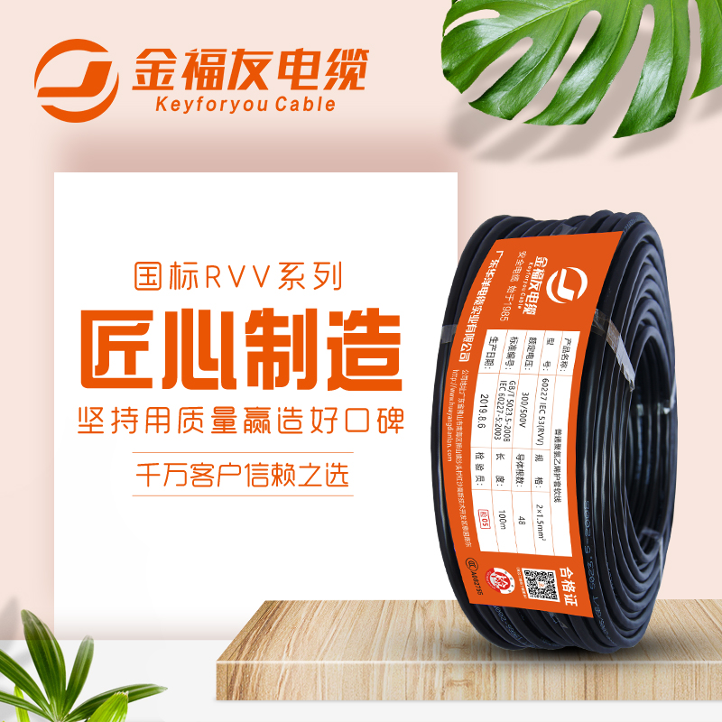 护套线RVV