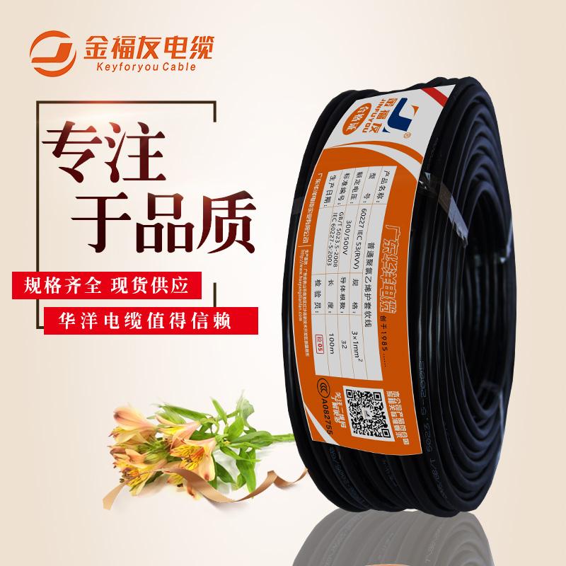 电缆RVV