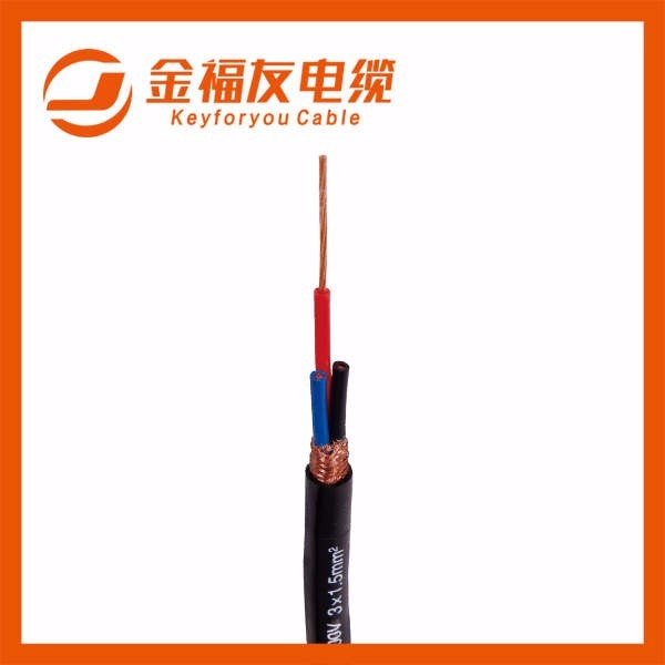 RVVP铜芯屏蔽软电缆