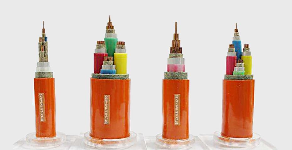 铜芯铝护套柔性防火电力电缆